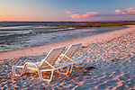Sunset at Skacket Beach in Brewster, Cape Cod, Massachusetts, USA