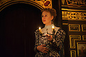 London, UK. 03.02.2016. Shakespeare's Globe presents THE WINTER'S TALE, by William Shakespeare, in the Sam Wanamaker Playhouse. Picture shows: Niamh Cusack (Paulina). Photograph © Jane Hobson.