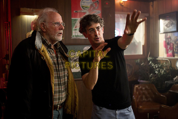 Bruce Dern &amp; director Alexander Payne <br /> on the set of Nebraska (2013)<br /> *Filmstill - Editorial Use Only*<br /> CAP/FB<br /> Image supplied by Capital Pictures