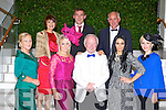 Modelling the latest trends at the Fossa Community Fashion show in the hotel Europe on Tuesday night were front row l-r: Shirley Clifford, Vivian Carroll, Sean O'Donoghue, Oonagh McGregor, Erika Moc. Back row: Finola Long, John McKenna and Tim Kissane