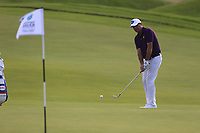 Scot Hend (AUS) on the 5th green during the 1st round of  the Saudi International powered by Softbank Investment Advisers, Royal Greens G&CC, King Abdullah Economic City,  Saudi Arabia. 30/01/2020<br /> Picture: Golffile | Fran Caffrey<br /> <br /> <br /> All photo usage must carry mandatory copyright credit (© Golffile | Fran Caffrey)