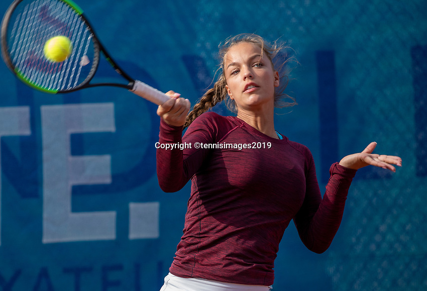 Zandvoort, Netherlands, 8 June, 2019, Tennis, Play-Offs Competition, Womans doubles: Sem Wensveen (NED)<br /> Photo: Henk Koster/tennisimages.com