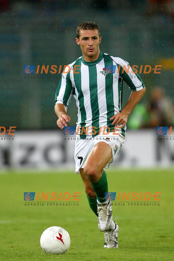 Roma 25/8/2003<br /> Firendly match roma - Betis Siviglia 2-2<br /> Varela - Betis Siviglia<br /> Photo Andrea Staccioli Insidefoto/Sportpress