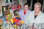CRAFTS: Mary Meade, Cork, and Anna Rabbitte, Listowel, take a look through one of the stalls at the arts and craft fair on Sunday at the Sean McCarthy weekend in Finuge..