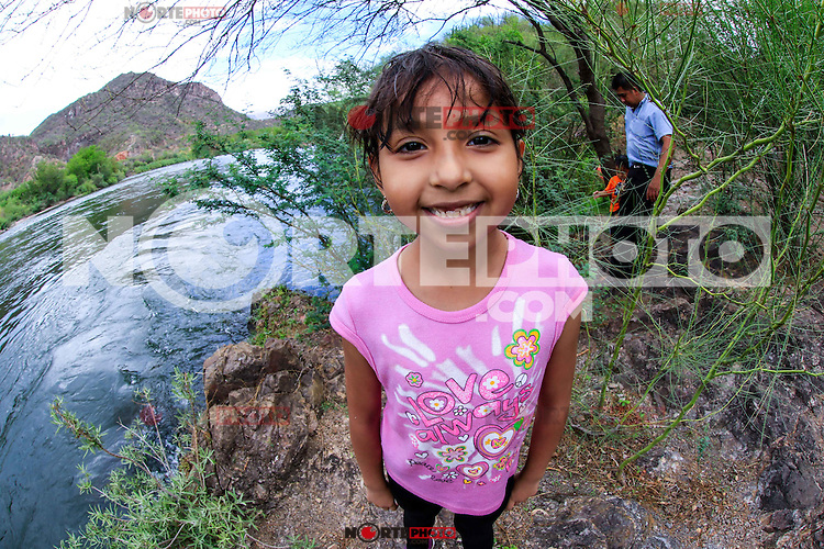 Rio Yaqui, located in the municipality of Soyopa., Sonora, Mexico.** <br />