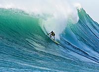 "Grant ""Twiggy"" Baker.   Mavericks Surf Contest 2008.  Half Moon Bay, Ca.  January 12, 2008."