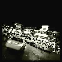 Taxistand am BER-Flughafen Berlin-Tegel.<br />7.1.2014, Berlin<br />Copyright: Christian-Ditsch.de<br />[Inhaltsveraendernde Manipulation des Fotos nur nach ausdruecklicher Genehmigung des Fotografen. Vereinbarungen ueber Abtretung von Persoenlichkeitsrechten/Model Release der abgebildeten Person/Personen liegen nicht vor. NO MODEL RELEASE! Don't publish without copyright Christian-Ditsch.de, Veroeffentlichung nur mit Fotografennennung, sowie gegen Honorar, MwSt. und Beleg. Konto:, I N G - D i B a, IBAN DE58500105175400192269, BIC INGDDEFFXXX, Kontakt: post@christian-ditsch.de<br />Urhebervermerk wird gemaess Paragraph 13 UHG verlangt.]