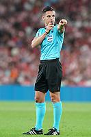 Spanish referee Carlos Del Cerro Grande during La Liga match. August 16,2019. (ALTERPHOTOS/Acero)<br /> Liga Spagna 2019/2020 <br /> Atletico Bilbao - Barcellona<br /> Foto Alterphotos / Insidefoto <br /> ITALY ONLY