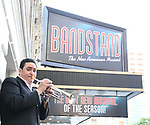 Joey Pero during his 'Bandstand' Broadway Debut photo shoot at the Jacobs Theatre on July 19, 2017 in New York City.