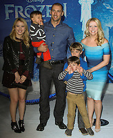 "HOLLYWOOD, CA - NOVEMBER 19: Melissa Joan Hart at the World Premiere Of Walt Disney Animation Studios' ""Frozen"" held at the El Capitan Theatre on November 19, 2013 in Hollywood, California. (Photo by David Acosta/Celebrity Monitor)"