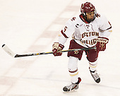 Kaliya Johnson (BC - 6) -  The Boston College Eagles defeated the visiting Boston University Terriers 5-0 on BC's senior night on Thursday, February 19, 2015, at Kelley Rink in Conte Forum in Chestnut Hill, Massachusetts.