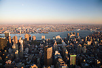 Eastward View of NYC from the Empire State building