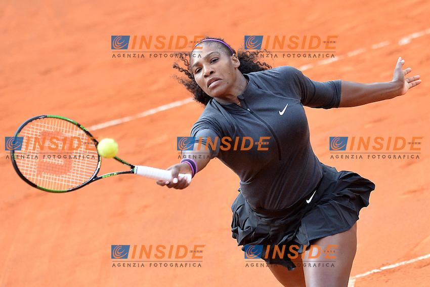 Serena Williams (USA)<br /> Roma 14-05-2016  Foro Italico<br /> Internazionali BNL d'Italia, Women Semifinal,<br /> Tennis WTA<br /> Foto Antonietta Baldassarre / Insidefoto