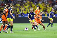 Lyon (França) 03/07/2019 - Copa do Mundo de Futebol Feminino -  Groenen da Holanda e  Seger da Suécia valido pelas semi-finais da Copa do Mundo de Futebol Feminino na cidade de Lyon na França nesta quarta-feira, 03.<br /> (Foto: Vanessa Carvalho/Brazil Photo Press)