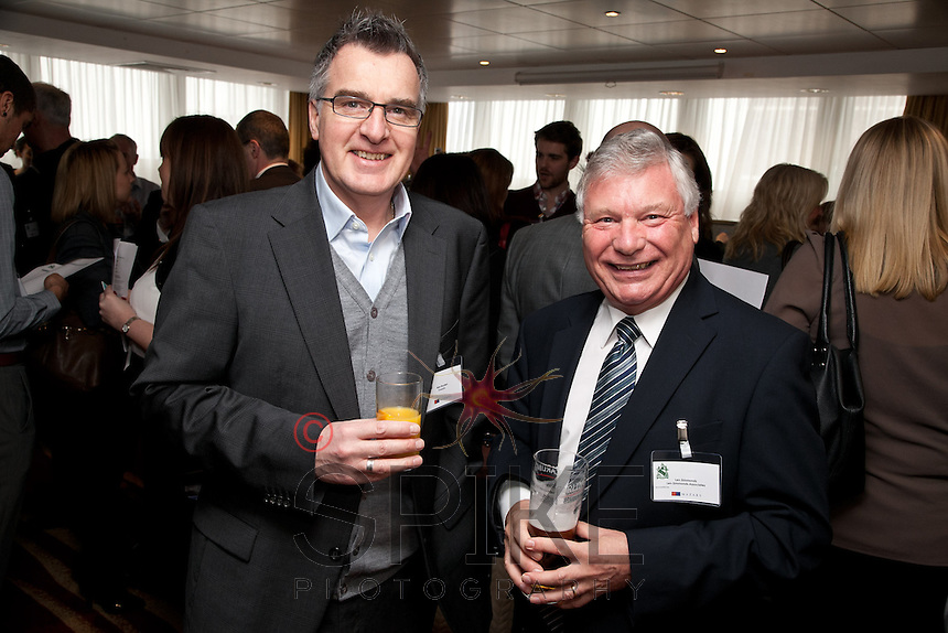 Alan Boyden of Freestyle (left) with Len Simmonds of Len Simmonds Associates