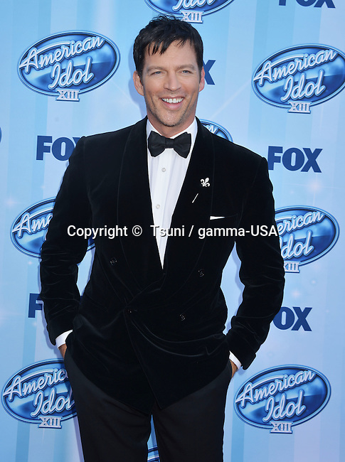 Harry Connick Jr  at the American Idol XIII Finale 2014 at the Nokia Theatre in Los Angeles.