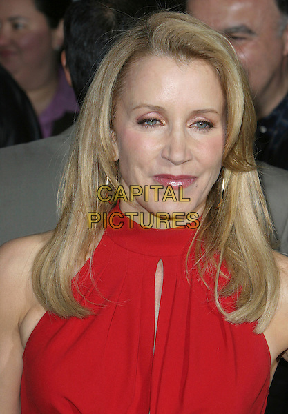 "FELICITY HUFFMAN.""Wild Hogs"" Los Angeles Premiere held at the El Capitan Theatre, Hollywood, California, USA, 27 February 2007..portrait headshot red dress.CAP/ADM/CH.©Charles Harris/AdMedia/Capital Pictures. *** Local Caption *** ."