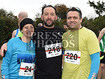 Maria Broderick, Fergus and Sean Harmon who toojk part in the Noel Carroll 10k race at Annagassan. Photo:Colin Bell/pressphotos.ie