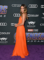 "LOS ANGELES, USA. April 22, 2019: Chloe Bennet at the world premiere of Marvel Studios' ""Avengers: Endgame"".<br /> Picture: Paul Smith/Featureflash"