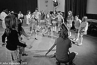 Anna Scher Children's Theatre, East End of London 1972.  Kids would come after school and be expected to work hard.  Occassionally, they would have bits of filming to do for the BBC etc..  Some went on to have careers in the industry and a few became household names: Pauline Quirk, Phil Daniels.