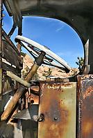 Old Truck Detail at Keys Ranch Joshua Tree National Park
