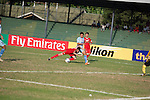 HTTU Asgabat vs Manang Marshyangdi Club during the 2014 AFC President's Cup Final Stage Group A match on September 22, 2014 at the Sugathadasa Stadium in Colombo, Sri Lanka. Photo by World Sport Group