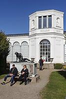 Orangerie im Schlosspark von Putbus auf Rügen erbaut 1835., Mecklenburg-Vorpommern, Deutschland
