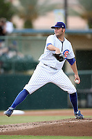 August 15, 2008: James Russell (41) of the Daytona Cubs at Jackie Robinson Ballpark in Daytons, FL. Photo by: Chris Proctor/Four Seam Images
