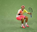 Lucas Pouille (FRA) topples Rafael Nadal (ESP)