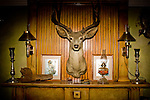 Still life from the Logan House, a bed and breakfast style home in Russell Springs...Larry and Bette Haverfield on their ranch near the defunct town of Russell Springs, Kansas.  The Haverfields have been embroiled in a long-running war over the presence of prairie dogs on their ranch.  The Haverfields assert, correctly, that the prairie dogs contribute to increased biodiversity on their property, enabling them to graze their cattle in a fashion that mimics the movement and grazing patterns of pre-settlement buffalo through their range.  The county, particularly county commissioner Carl Ulrich, contend that prairie dogs are a nuisance and should be eradicated.  Many of the haverfields' neighbors feel the same way.  In recent years, the county has exterminated prairie dogs from the Haverfield property using a number of methods, including gas and poison, before sending the Haverfields the bill.  The Haverfields have discovered a number of 'secondary kill' animals, carcasses of birds and mammals that have eaten the poisoned prairie dogs and subsequently been killed themselves.  Complicating matters, the US Fish and Wildlife Service has recently re-introduced endangered black footed ferrets onto the land, a natural predator of the prairie dogs.  This move has heightened tensions between neighbors and led to a series of legal maneuvers on both sides to control the spread of the prairie dogs as well as the ferrets.