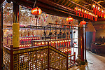 Man Mo Temple interior.