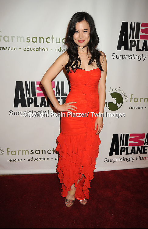Leanne Hilgart of Vaute Couture attending Farm Sanctuary 25th Anniversary Gala on .May 14, 2011 at Cipriani Wall Street in New York City.