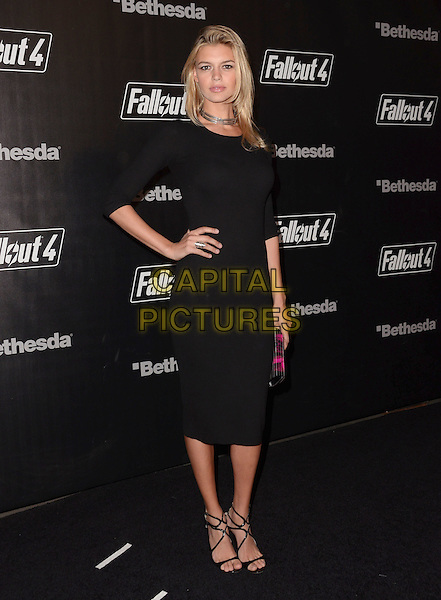 05 November - Los Angeles, Ca - Kelly Rohrbach. Arrivals for the official launch party of the video game &quot;Fallout 4&quot; held at a private location in Downtown LA.  <br /> CAP/ADM/BT<br /> &copy;BT/ADM/Capital Pictures