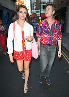 Bee Beardsworth and Dominic Jones at the HENI Gallery x Adidas &quot;Prouder&quot; project private view &amp; party, HENI Gallery, Lexington Street, London, England, UK, on Tuesday 03 July 2018.<br /> CAP/CAN<br /> &copy;CAN/Capital Pictures