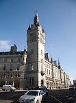 Town House clock tower, Union Street, Aberdeen, Scotland