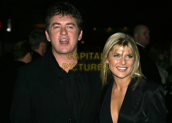 SHANE RICHIE & GIRLFRIEND CHRISTIE GODDARD.The Lord Of The Rings: The Return Of The King UK premiere, Odeon Leicester Square.11 December 2003.www.capitalpictures.com.sales@capitalpictures.com.© Capital Pictures.