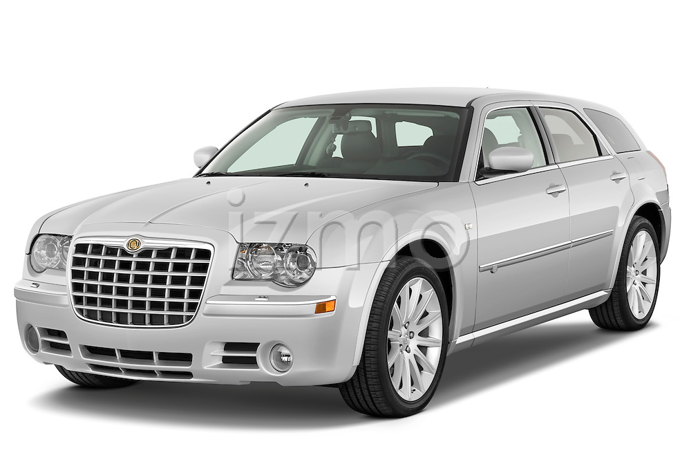 Front three quarter view of a 2009 Chrysler 300 CRD.