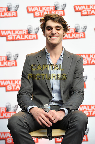 LONDON, ENGLAND - FEBRUARY 21: RJ Mitte attending 'Walker Stalker Con 2015' at Olympia in London on February 21, 2016 in London, England.<br /> CAP/MAR<br /> &copy; Martin Harris/Capital Pictures