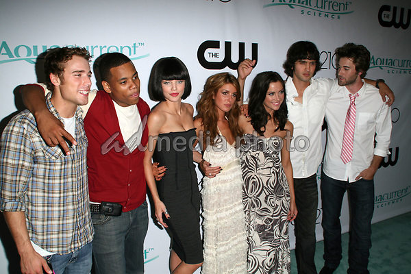 """23 August 2008 - Malibu, California - 90210 Cast. CW Network's """"90210"""" Premiere Party held at a Private Location. Photo Credit: Faye Sadou/AdMedia"""