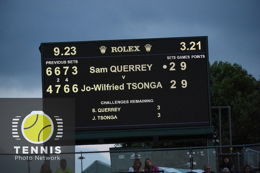 Wimbledon, 25/6/2014<br /> <br /> Photo © Ray Giubilo