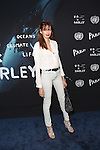 Model Kenza Fourati Attends President of the General Assembly of the United Nations and Parley Oceans Launch Event