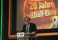 Jubiläumsgala 20 JAHRE FUSSBALL EINHEIT - Congresscenter Leipzig - DFB  - im Bild: Michel Platini .Foto: Norman Rembarz .