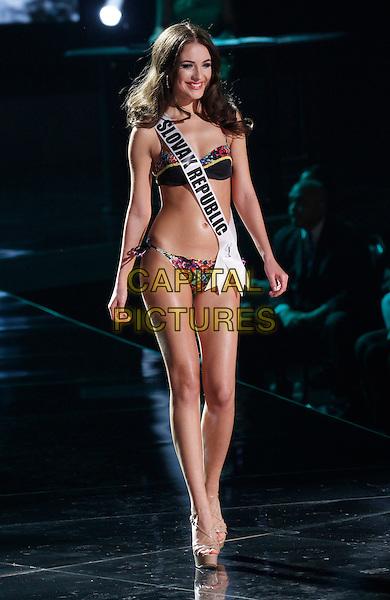 16 December 2015 - Las Vegas, Nevada -  Miss Slovak Republic, Denisa Vysnovska. 2015 Miss Universe Preliminary Competition at Axis at Planet Hollywood Resort and Casino. <br /> CAP/ADM/MJT<br /> &copy; MJT/AdMedia/Capital Pictures