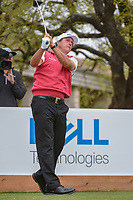 Phil Mickelson (USA) watches his tee shot on 1 during day 3 of the World Golf Championships, Dell Match Play, Austin Country Club, Austin, Texas. 3/23/2018.<br /> Picture: Golffile | Ken Murray<br /> <br /> <br /> All photo usage must carry mandatory copyright credit (&copy; Golffile | Ken Murray)