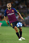 UEFA Champions League 2018/2019 - Matchday 1.<br /> FC Barcelona vs PSV Eindhoven: 4-0.<br /> Jordi Alba.