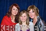 Maura Spillane, Claire Spillane and Emma Brady Killarney at the Kerry All stars black tie ball in the Malton Hotel Killarney on Friday night    Copyright Kerry's Eye 2008