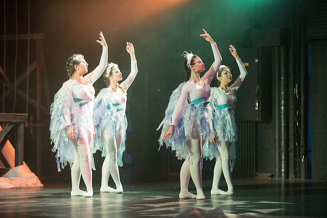 """""""The Snow Queen"""" by the Lexington Children's Theatre at the Opera House on, Friday Nov. 25, 2016  in Lexington, Ky. Photo by Mark Mahan"""