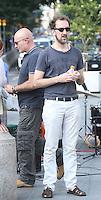 July 26, 2012  Director John Carney shooting on location at Washington Square Park for new VH-1 movie Can a Song Save Your Life? in New York City.Credit:© RW/MediaPunch Inc. /NortePhoto.com<br /> **SOLO*VENTA*EN*MEXICO**<br />  **CREDITO*OBLIGATORIO** *No*Venta*A*Terceros*<br /> *No*Sale*So*third* ***No*Se*Permite*Hacer Archivo***No*Sale*So*third*©Imagenes*con derechos*de*autor©todos*reservados*.