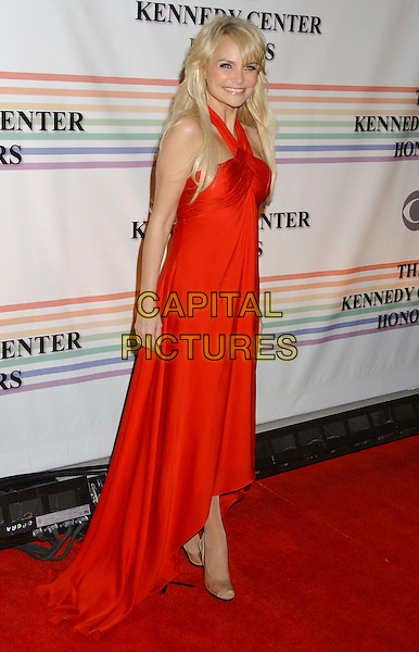KRISTIN CHENOWETH.30th Kennedy Center Honors Recipients honored for lifetime achievement in the performing arts held at the Kennedy Center for the Performing Arts, Washington, D.C. .USA, 02 December 2007..full length red dress.CAP/ADM/LF.©Laura Farr/AdMedia/Capital Pictures.