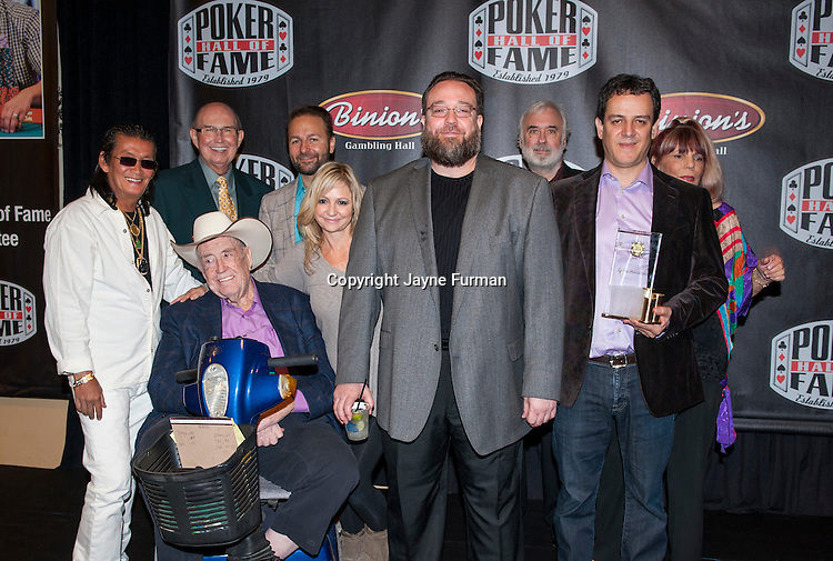 Poker Hall of Fame Inductees